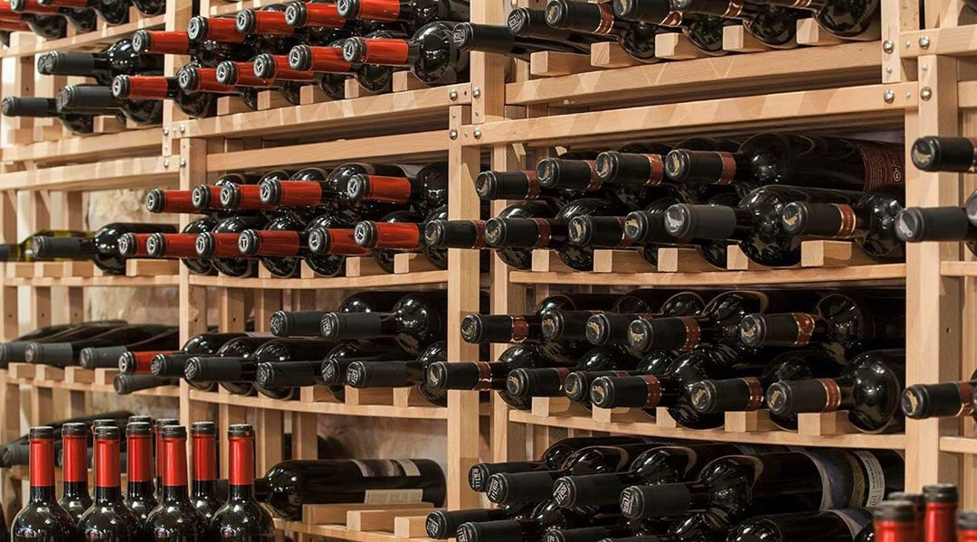 Modulocube Solid Timber Wine Rack