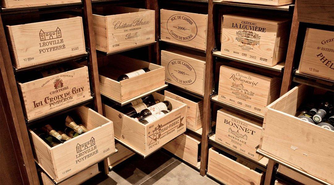 Modulorack Roller Mounted Wine Rack