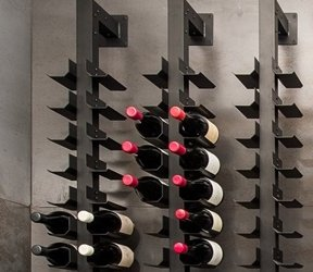 Display Wine Racking Double Sided Cradle by Macphees