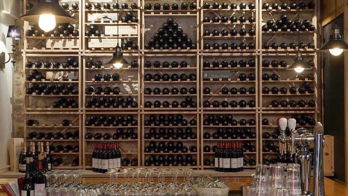 MacPhees EuroCave Wine Racking Header