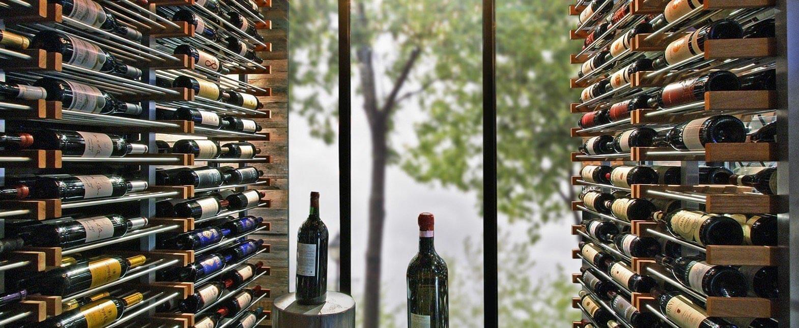 MacPhees Millesime Custom Wine Racking Header