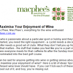 How to maximise your enjoyment of wine