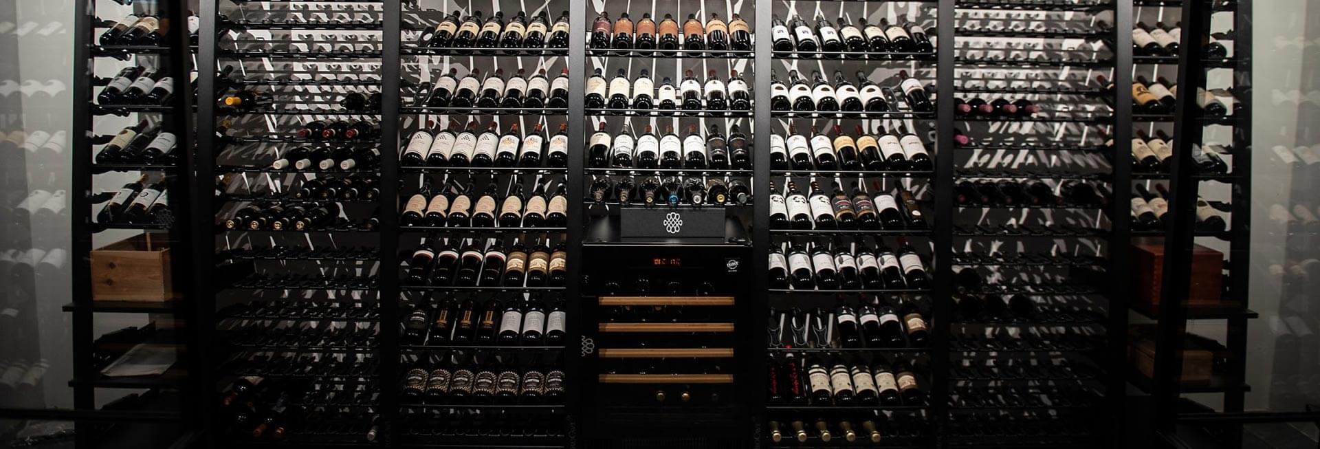EuroCave Modulosteel Wine Racking Header