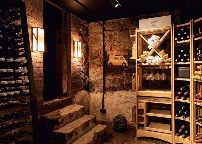 MacPhees wine cellar