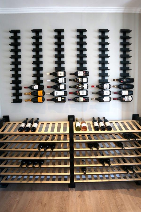 Display Wine Cradles on Spine