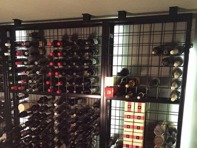 Indi Wine Racking Cellar
