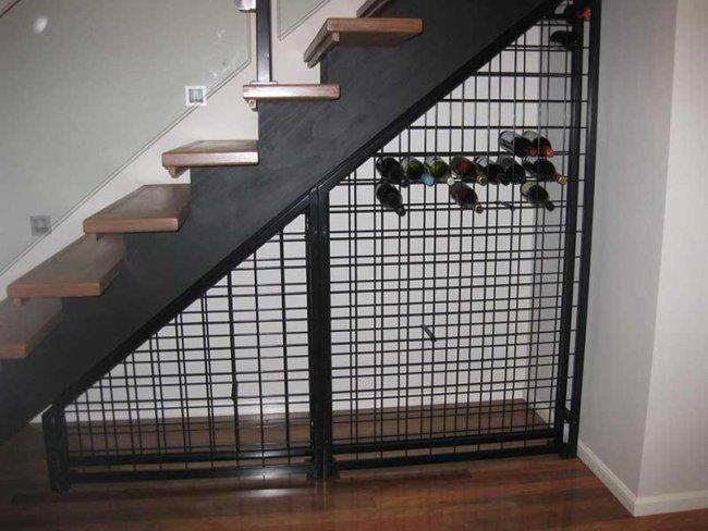 Indi Wine Racking Under Stairs