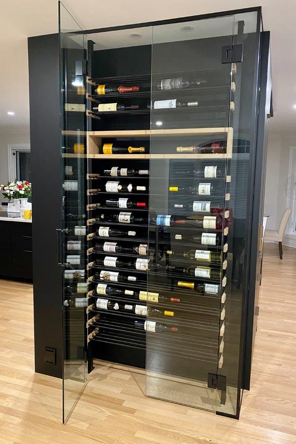 Millesime Custom Wine Racks Black