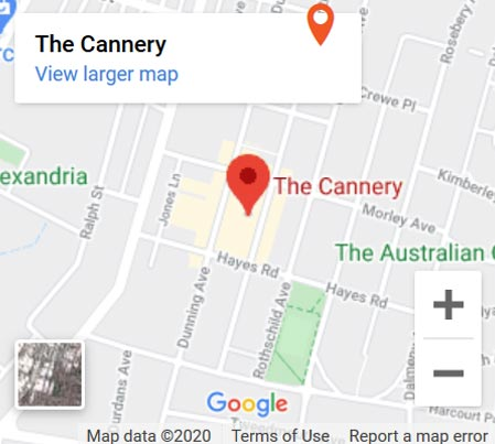 Map-The-Cannery
