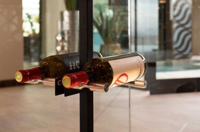 Vino Pins Floor to Ceiling