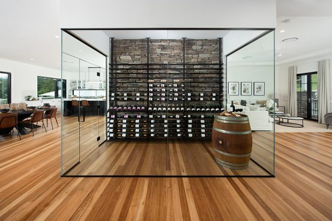 MacPhees Evolution Racking Wine Room Endeavour Prize Home